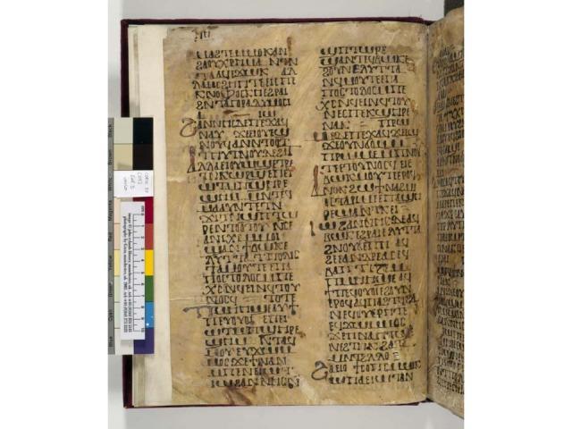 John Rylands Coptic 87 fol. 3v