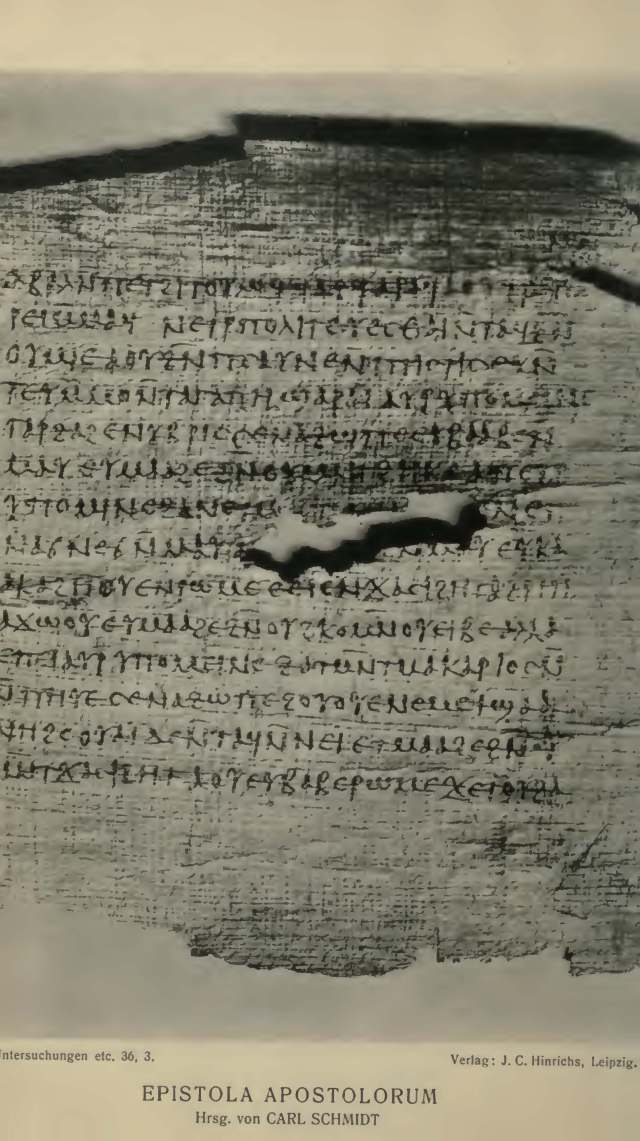 epistula apostolorum